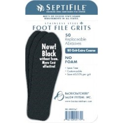 SeptiFile F.F. Black 80 Grit - 50pack
