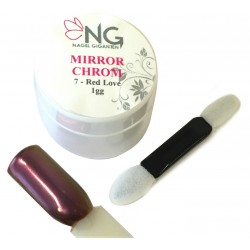 07 Red Lov - Mirror Powder 1gr