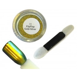 11 Gold Silver - FlipFlop Mirror Powder 1gr
