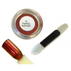 10 Red Gold - FlipFlop Mirror Powder 1gr