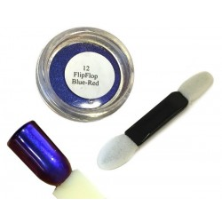 12 Blue Red - FlipFlop Mirror Powder 1gr