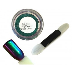 14 Green Lilac - FlipFlop Mirror Powder 1gr