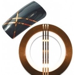 Striping Tape Bronze(ca 1mm bred)