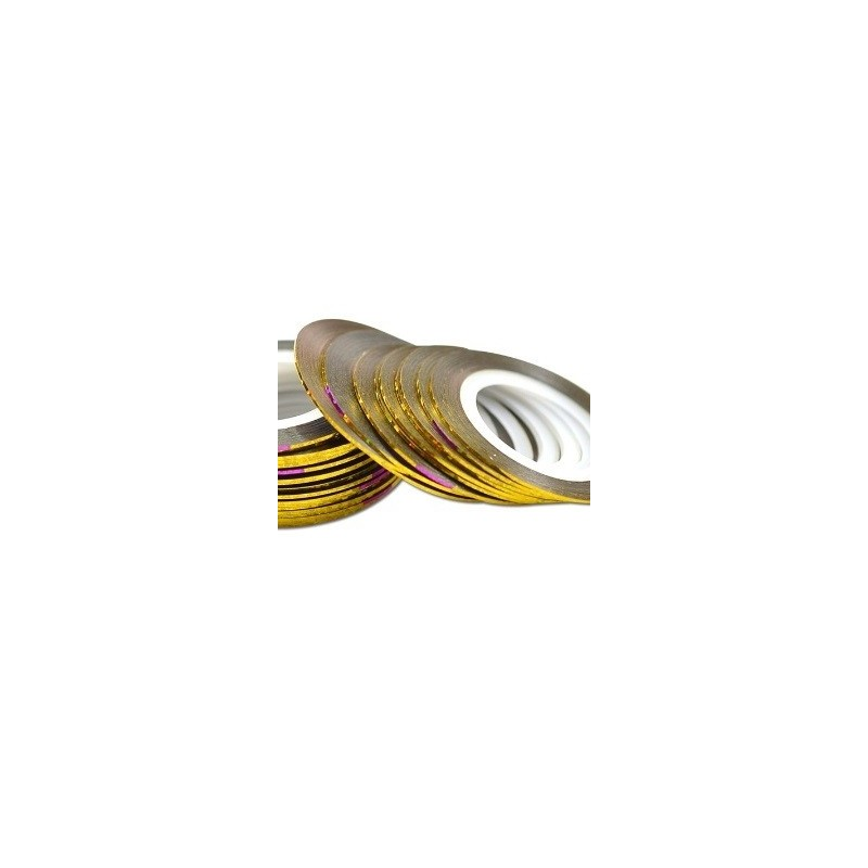 Striping Tape Laser Gold 1st.(ca 1mm bred)