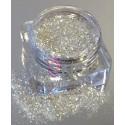 Silver-White Glitter 0.8mm