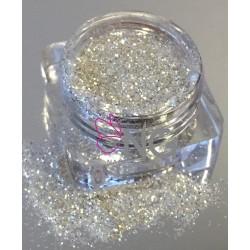 Silver-White Glitter 0.8mm (RNAG-17)
