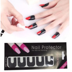 Peel Off Nail Art Protector 10pcs.