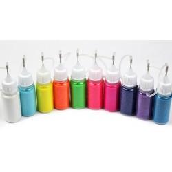 Neon Glitter Kit 10pack(nr.11-21)