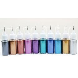 Laser Glitter Kit 10pack(nr.44-54)