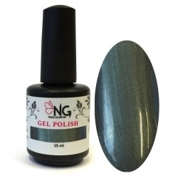 848 Metallic Dark Green - NG LED/UV Soak Off Gel Polish 15ml