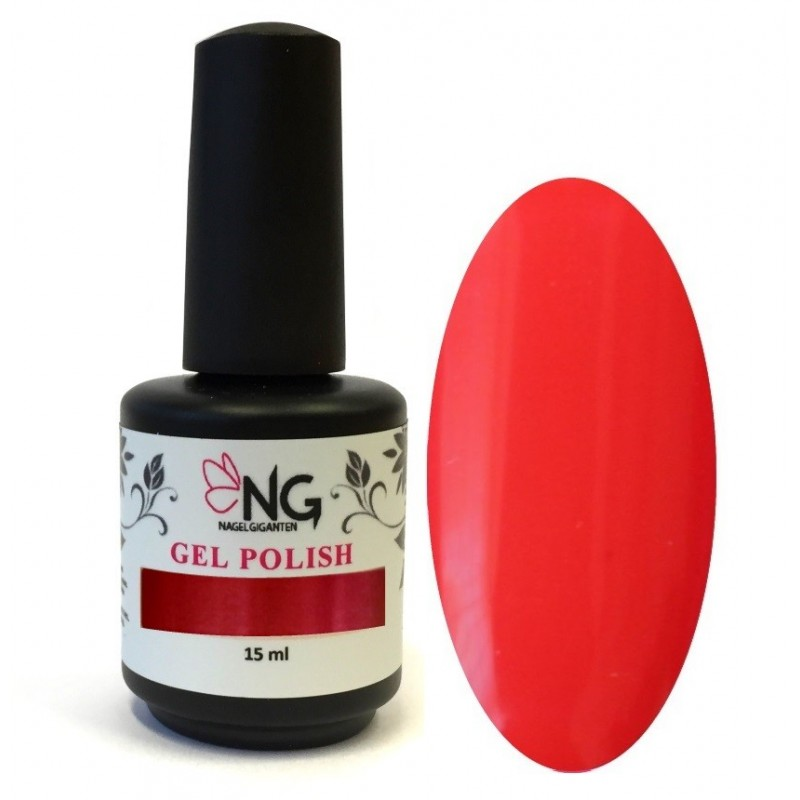 805 Fire Red - NG LED/UV Soak Off Gel Polish 15ml