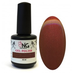 921 Metallic Brown - NG LED/UV Soak Off Gel Polish 15ml