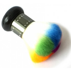 Dust Brush Multicolor - Black handle