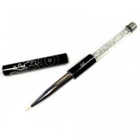Crystal Black Nail Art Brush 7mm