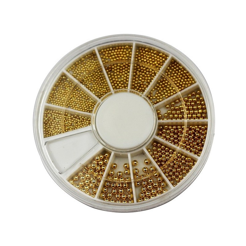 Pearls Gold in wheel
