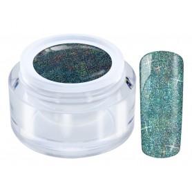 1002 Glitter Blue - LED Galaxy HOLO Gel 4,5gr