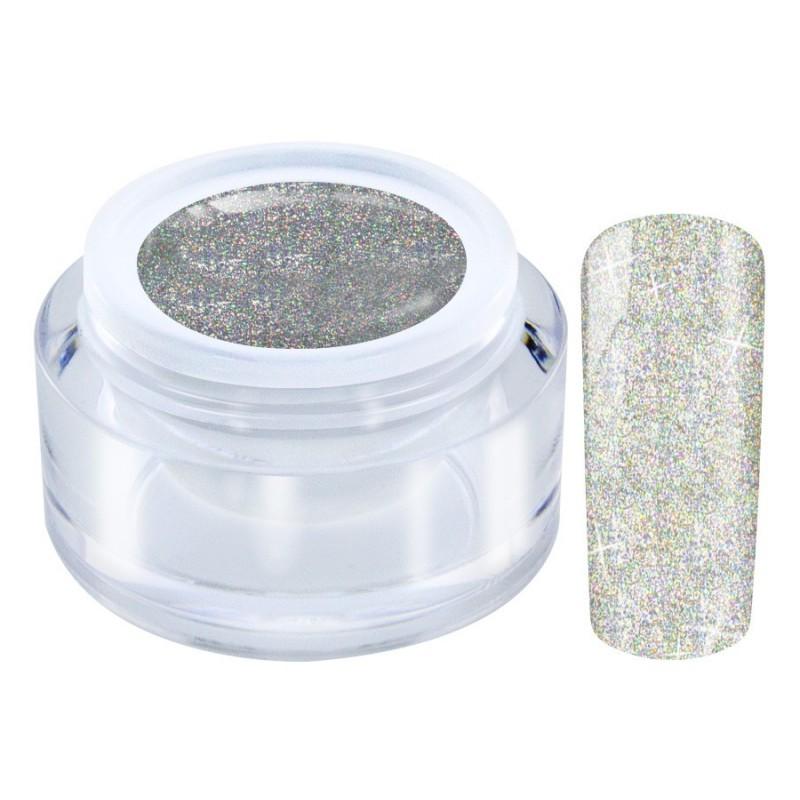1005 Glitter Silver - LED Galaxy HOLO Gel 4,5gr
