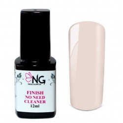 NG LED Finish No-Need-Cleaner soft rose Gel 12ml