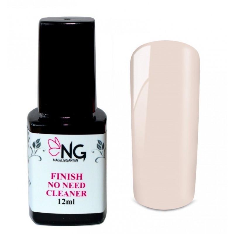 NG LED Finish No-Need-Cleaner soft rose Gel 12ml
