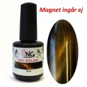 607 Cat Eye Gold - NG LED/UV Soak Off Gel Polish 15ml
