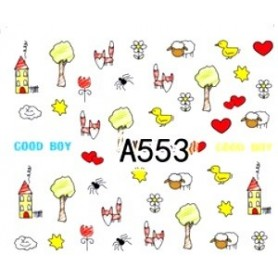 553 - Mix Water tattoo