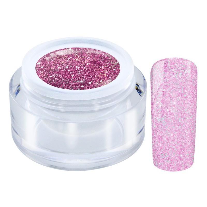 1-07 Pink - NG Super Glitter Gel