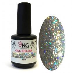 795 Glitter HOLO Silver - NG LED/UV Soak Off Gel Polish 15ml