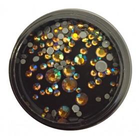 Rhinestones in jars - 03