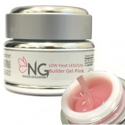 Low Heat UV/LED Builder Gel Pink