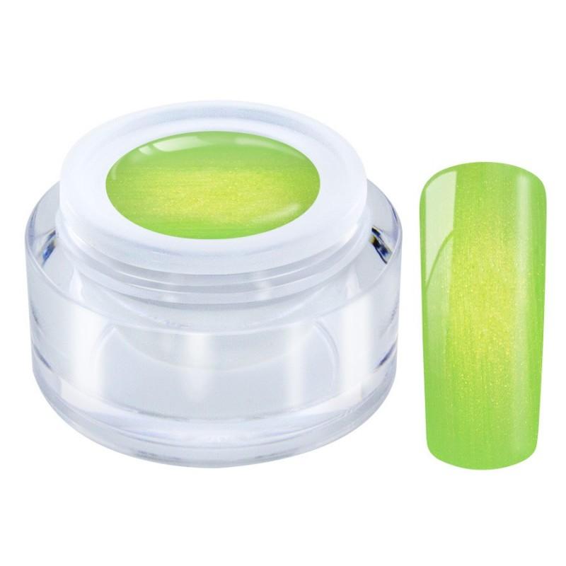 855 Poison Green Golden Color Gel 5ml