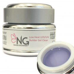 Low Heat UV/LED Builder Gel Clear