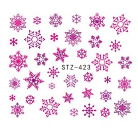 Water Tattoo Snowflakes - 423