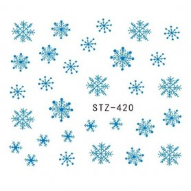 Water Tattoo Snowflakes - 420