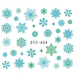 Water Tattoo Snowflakes - 424
