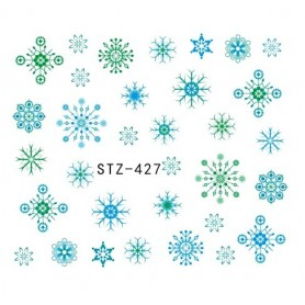 Water Tattoo Snowflakes - 427
