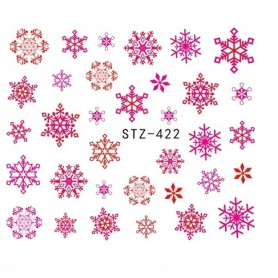 Water Tattoo Snowflakes - 422