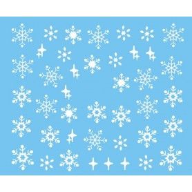 Water Tattoo Snowflakes - 434