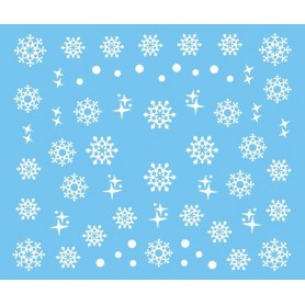 Water Tattoo Snowflakes - 435