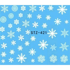Water Tattoo Snowflakes - 421