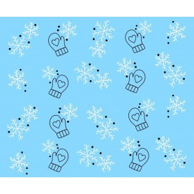 Water Tattoo Snowflakes - 429