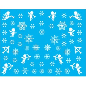 Water Tattoo Snowflakes - 080