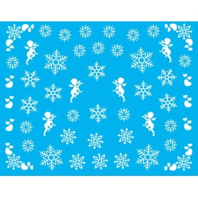 Water Tattoo Snowflakes - 076