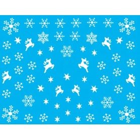 Water Tattoo Snowflakes - 078