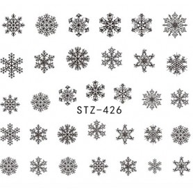 Water Tattoo Snowflakes - 426