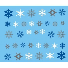 Water Tattoo Snowflakes - 433