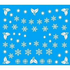 Water Tattoo Snowflakes - 073