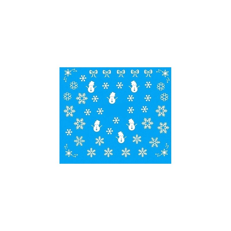 Water Tattoo Snowflakes - 074