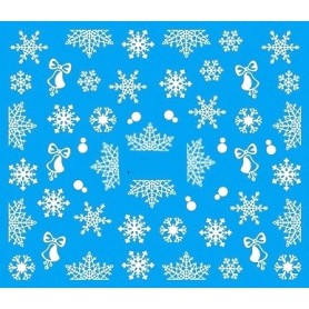 Water Tattoo Snowflakes - 075