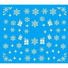 Water Tattoo Snowflakes - 081