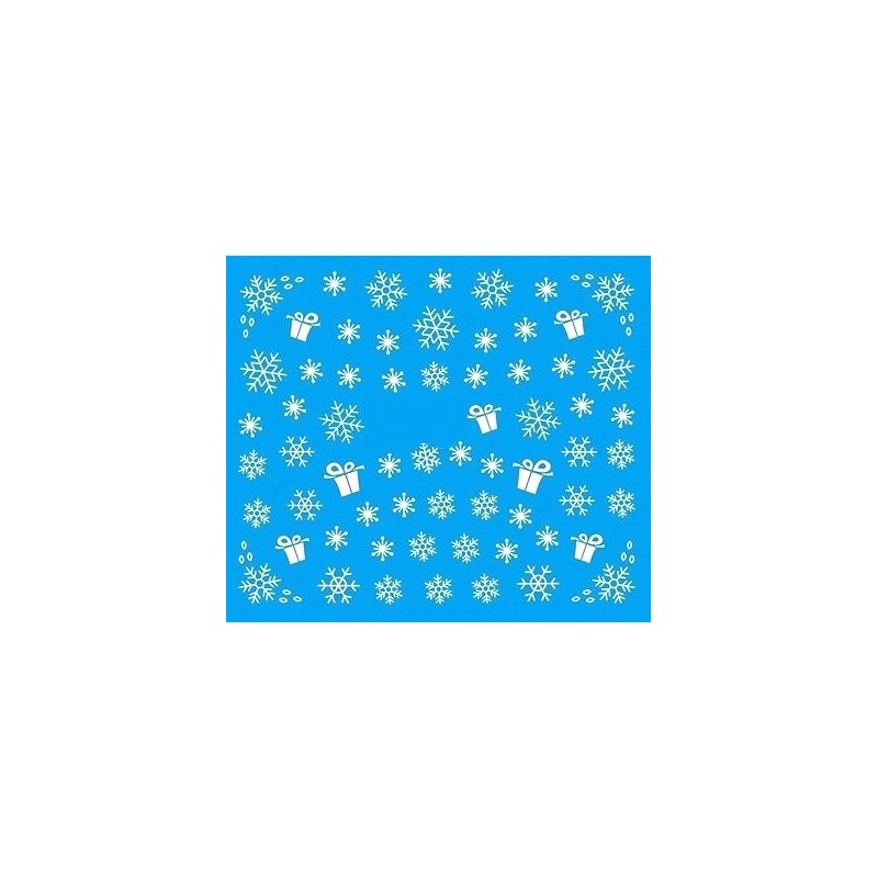 Water Tattoo Snowflakes - 082